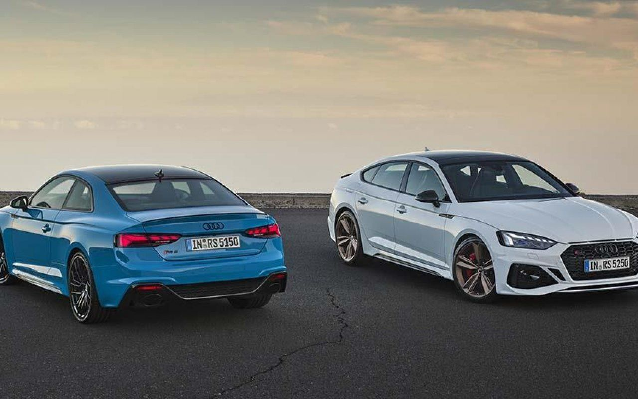 Stylish new-look for RS 5 Coupé and RS 5 Sportback