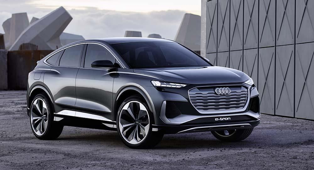 New Q4 Sportback e-tron concept shapes the future of Audi's compact SUVs
