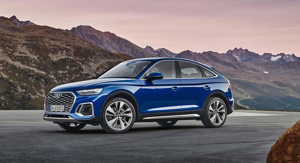 All-new Q5 Sportback: aesthetic appeal of a coupé and versatility of an SUV