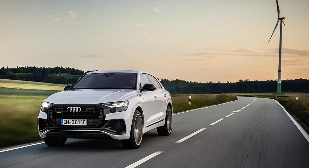 The gold standard in a new shade of green – flagship Audi Q8 SUV becomes the brand's seventh plug-in hybrid